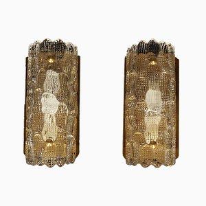 Vintage Danish Sconces, Set of 2
