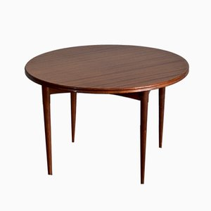 Round Afromosia Coffee Table by Richard Hornby for Heal's, 1960s