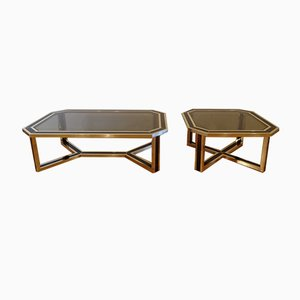 Italian Coffee Tables by Romeo Rega, 1960s, Set of 2