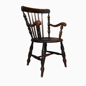 Antique English Country House Armchair