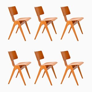 Dining Chairs by Robin Day for Hille, 1950s, Set of 6