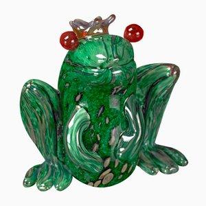 Grüner Froschkönig Skulptur von VG Design and Laboratory Department