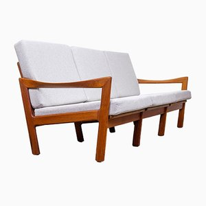 Danish Teak Sofa by Illum Wikkelsø for Niels Eilersen, 1960s