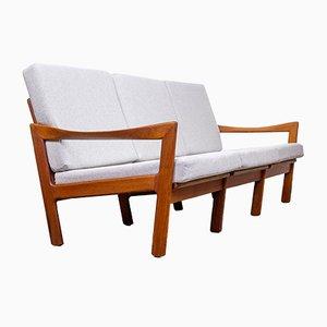 Danish Teak Sofa by Illum Wikkelsø for Niels Eilersen, 1960s