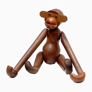 Danish Teak Monkey by Kay Bojesen, 1960s