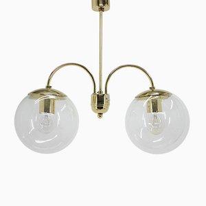 Mid-Century Deckenlampe von Kamenický Šenov, 1960er