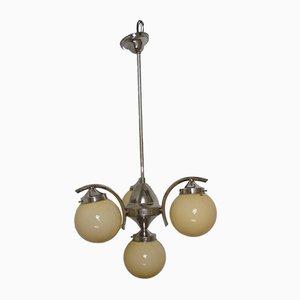 Lámpara de araña Art Déco de Jaroslav Anyz, años 30