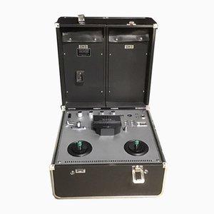 Grabadora estereofónica portátil modelo MR-929E japonesa de Sanyo, años 60