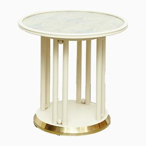 Antique White Coffee Table by Josef Hoffmann for Wittmann