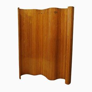 Divisorio in legno di pino di Alvar Aalto per Artek, inizio XXI secolo