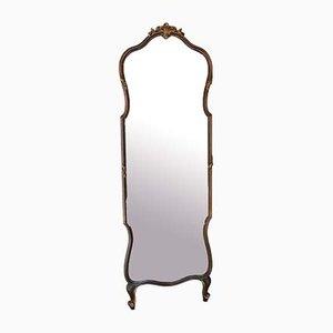 Großer Antiker Vergoldeter Spiegel mit Hoher Höhe, 1900er