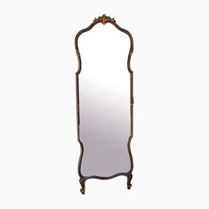 Large Antique Gilt Full Height Mirror, 1900s