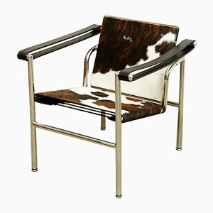 Model LC1 Armchair by Le Corbusier, Pierre Jeanneret and Charlotte Perriand, 1970s