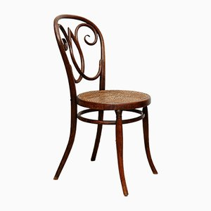 Bentwood and Rattan Side Chair, 1920s