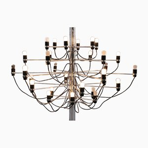 Mid-Century No. 2097/30 Chandelier by Gino Sarfatti for Arteluce, 1960s