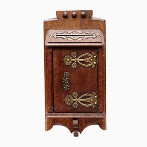 Spanischer Briefkasten aus Holz, 1920er
