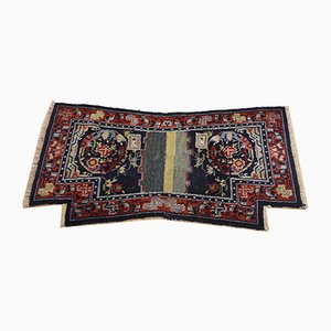 19th Century Tibetan Red Woolen Rug