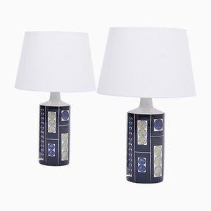 Lampes de Bureau Modèle Royal 7 Tenera par Inge-Lise Koefoed pour Fog & Mørup, années 60, Set de 2