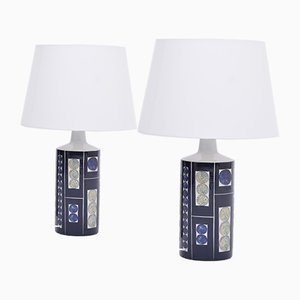 Model Royal 7 Tenera Table Lamps by Inge-Lise Koefoed for Fog & Mørup, 1960s, Set of 2