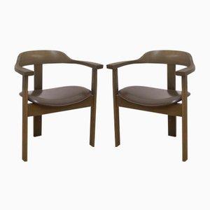 Vintage Armchairs by Trix Haussmann for Dietiker, Set of 4