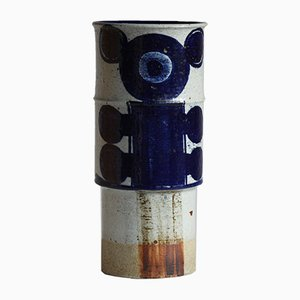 Mid-Century Stoneware Floor Vase by Inger Persson for Rörstrand, 1960s