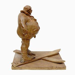 Sculpture en Résine par Christian Paix, années 90