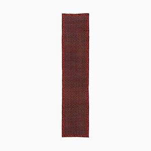 Karabagh Wollteppich in Rot & Blau, 1950er