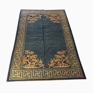 19th Century Chinese Blue Rug