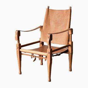 Schweizer Vintage Safari Sessel von Wilhelm Kienzle für Wohnbedarf, 1960er