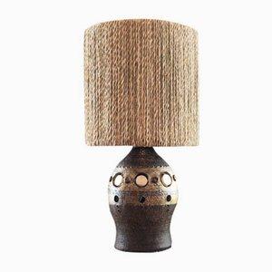 Lámpara de mesa de cerámica de Georges Pelletier, años 60