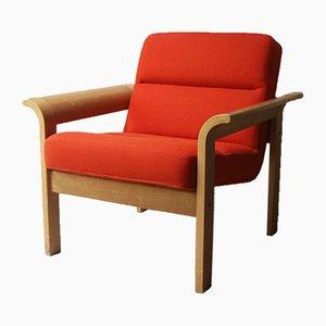 Dänischer Mid-Century Armlehnstuhl von 31 Chapel Lane für Magnus Olesen, 1970er