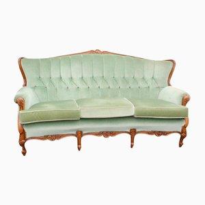 Sofá de tres plazas, años 40