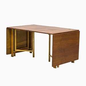 Swedish Model Mari Flap Dining Table by Bruno Mathsson for Firma Karl Mathsson, 1930s