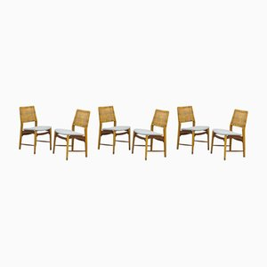 Norwegian Dining Chairs from Alfred Sand, 1950s, Set of 6