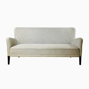 Scandinavian Wool Sofa, 1950s