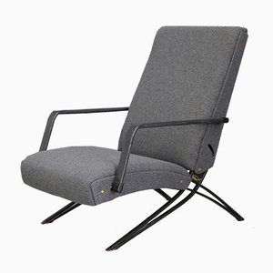 Gray Lounge Chair by Giulio Moscatelli for Formanova, 1960s