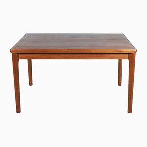 Danish Teak Extendable Dining Table by Henning Kjærnulf for Vejle Mobelfabrik, 1960s