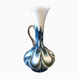 Jarra Mid-Century de cristal de Murano de Carlo Moretti, años 70