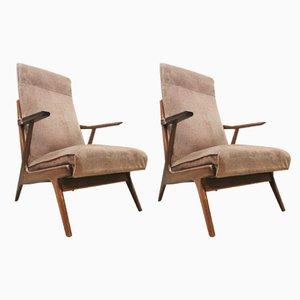Danish Armchairs, 1960s, Set of 2