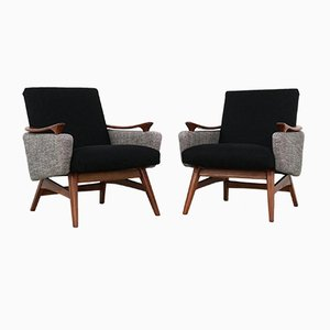 Dutch Easy Chairs, 1960s, Set of 2