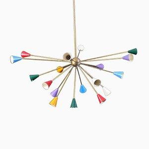 Mid-Century Italian Sputnik Chandelier