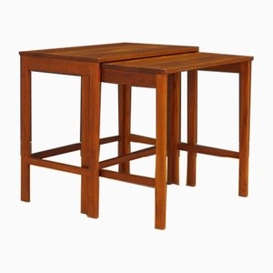 Teak Nesting Tables from France & Søn / France & Daverkosen, 1970s