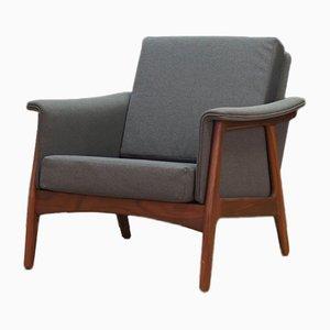Danish Gray Armchair, 1970s