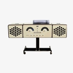 Vintage Brionvega RR 126 FO ST Design Record Player Turntable Radio, 1969