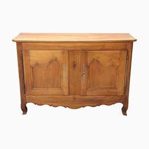 Antique French Cherry Wood Sideboard, 1880s