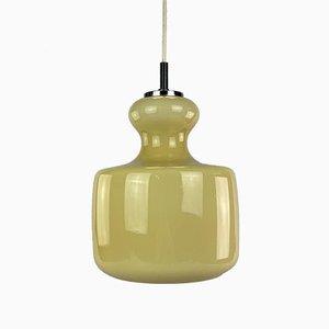 Mid-Century Space Age Deckenlampe aus Glas von Peill & Putzler