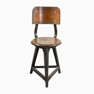 Vintage Industrial Dining Chair, 1930s