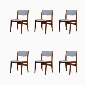 Mid-Century Danish Rosewood Dining Chairs from Skovby, 1960s, Set of 6
