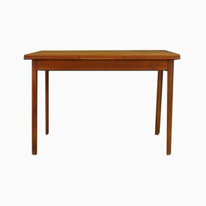 Vintage Scandinavian Teak Dining Table, 1960s