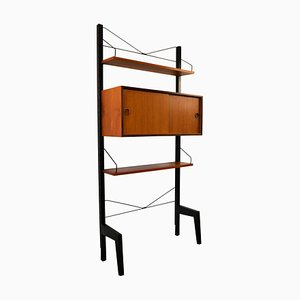 Wall Units by Poul Cadovius for cado, 1960s, Set of 5